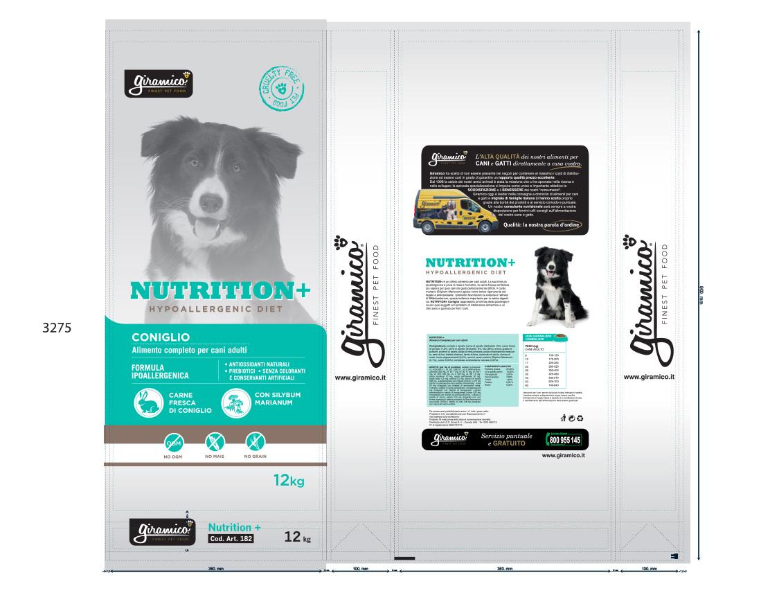 packaging design pet food
