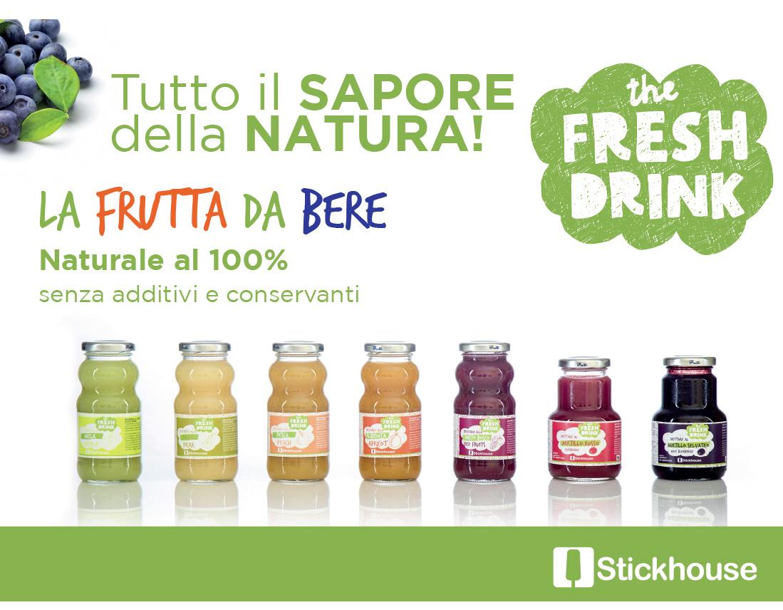 packaging succo frutta
